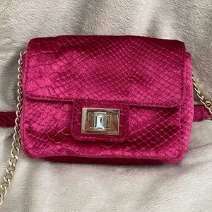 Juicy Couture Hot Pink Velour Purse